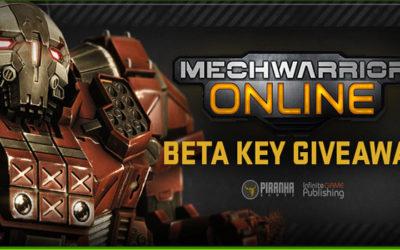 Mechwarrior Online beta key giveaway